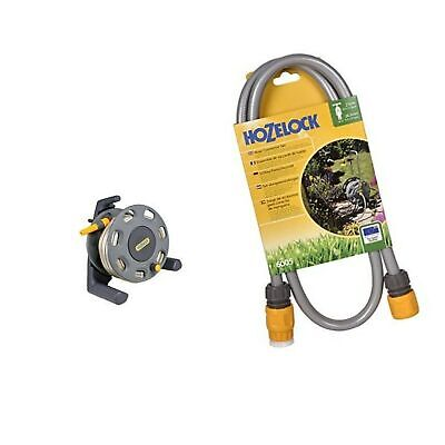 Hozelock Floor Standing Compact Reel With 20 M Hose With Connectors - Colour ...