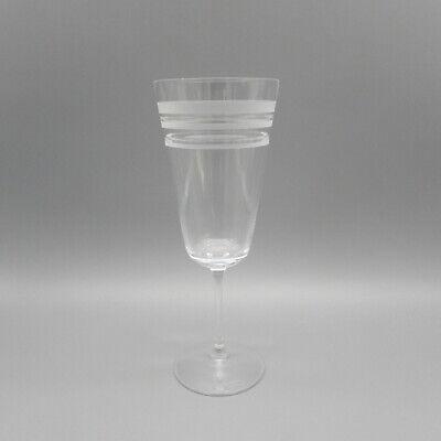 Lenox Crystal Kate Spade LIBRARY STRIPE Iced Tea Goblet