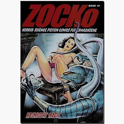 ZOCKo 10 Kosmische Magie HORROR EROTIK COMIC Science Fiction Zacko NEU