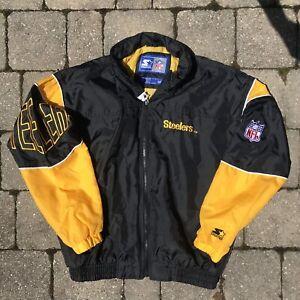 49e30607f Vintage Steelers Starter windbreaker jacket