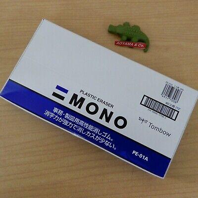 Tombow Mono Plastic Eraser Pe01 40-pack