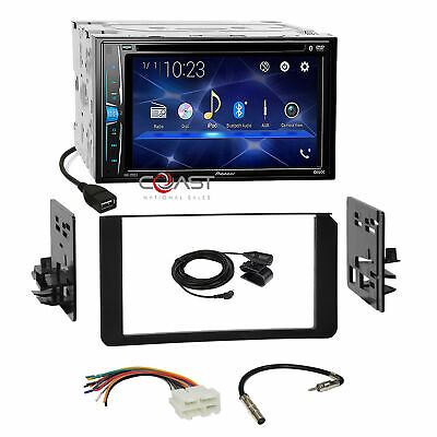 Pioneer DVD USB BT Stereo Dash Kit Harness for 1995-up GM Cadi Chevy SUV Trucks