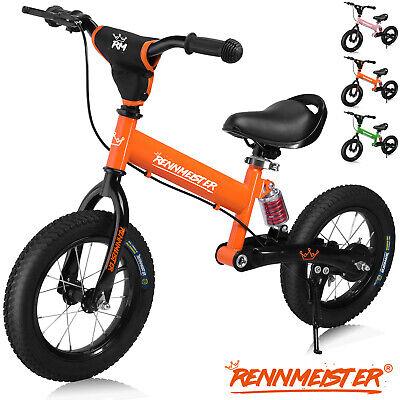 Bicicleta de equilibrio Rennmeister para niños sin pedales a partir de 3 años