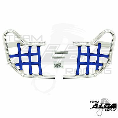 Yamaha Raptor 700 YFM700  Nerf Bars   Alba Racing   Silver Blue  197 T1 SL