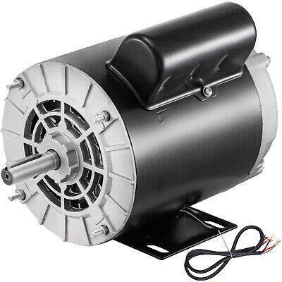 1.5hp Air Compressor Duty Electric Motor 56 Frame 3450 Rpm 115230v Single Phase