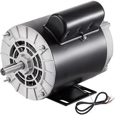 1.5hp Air Compressor Duty Electric Motor 56 Frame 3450 Rpm 115230v Single Phase
