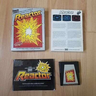 Reactor Atari 2600 VCS PAL Boxed & Instructions Tested & Working