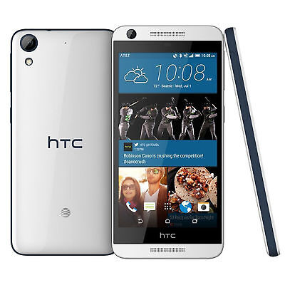 HTC Desire 626 AT&T Unlocked 4G LTE Quad-Core Android Phone - Marine White