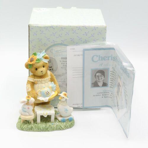 Cherished Teddies Agnes #0000820 2004 Ltd Ed Signed by Glenn Hillman NIB