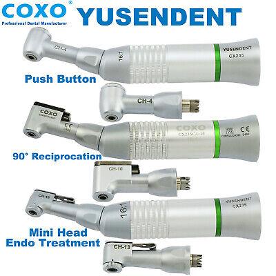 Coxo Dental 161 Push Button Endo Contra Angle Low Speed Handpiece Nsk Mini Head
