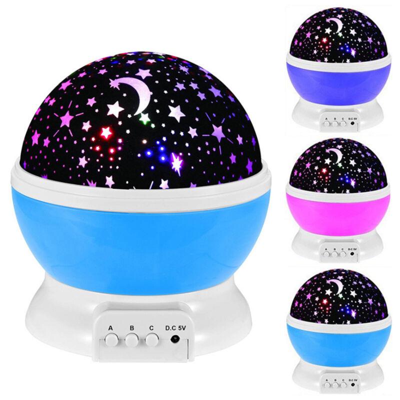 Baby LED Sternenhimmel Projektor Lampe Nachtlicht Kinder Dekor Nachtlichter DE