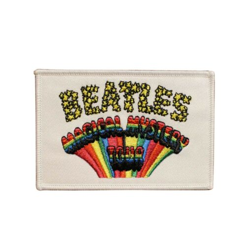 The Beatles Magical Mystery Tour Embroidered Iron On Patch - Licensed 073-H