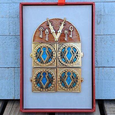 Villains Vault Cabinet Pin Set 2017 Disney Frollo Cruella Tremaine Scar LE 150