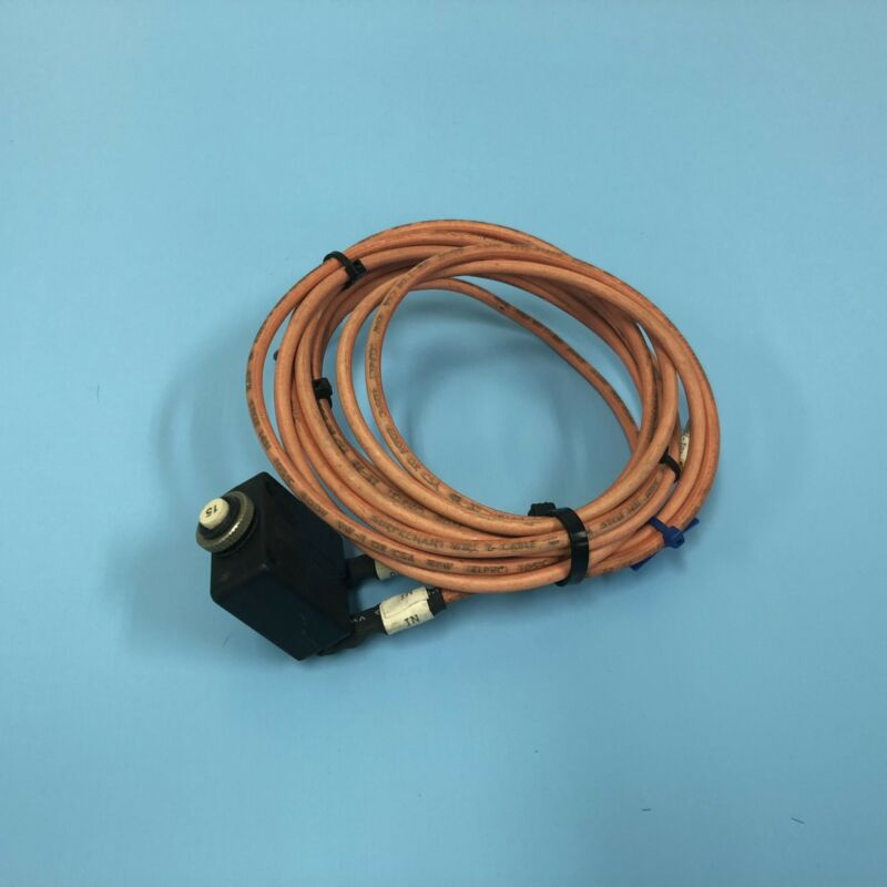 323-0402// AMAT APPLIED 0090-70013 ELEC. ASSY THERMAL CIRCUIT BREAKER 15#A USED