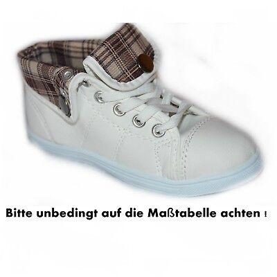 Sneaker Knöchelschuhe Boots Mädchen Jungen Gr. 28 30 NEU ()