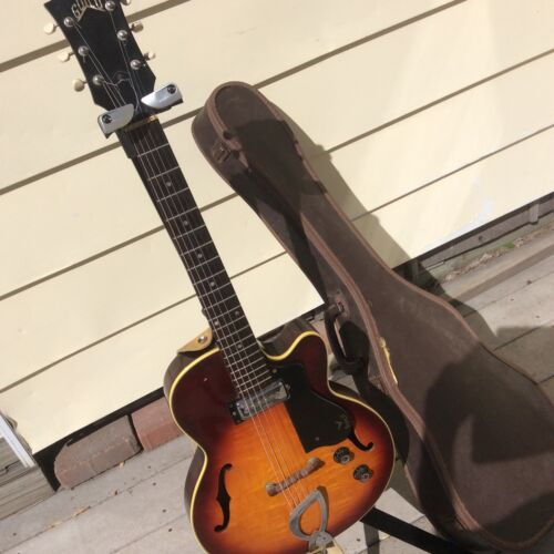 1964 Vintage Guild M 65 3/4 Freshman Rare Old Electric Arch Top All Orig. Guitar