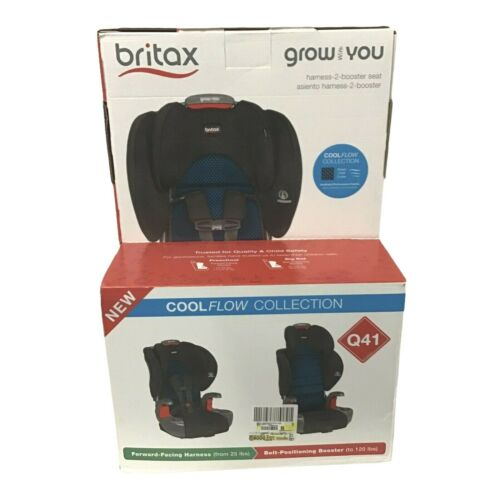 Britax Grow With You Harness-2-Booster Car Seat, Cool Flow, Teal