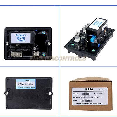 New Leroy Somer Avr R220 Automatic Voltage Regulators R220