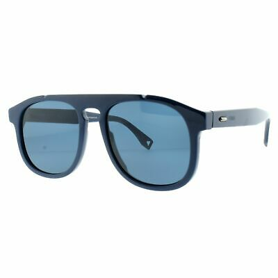 Fendi Ff M0014/S Pjp Blau Volle Felge Aviator Herren 100% UV Linse Sonnenbrille