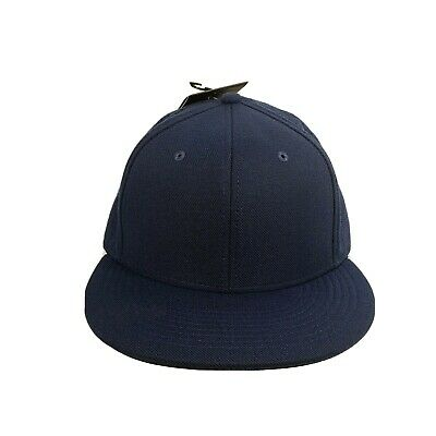 NEW Men's Nike Aerobill Perforated Fitted Flatbill Hat Cap Sz L/XL Navy