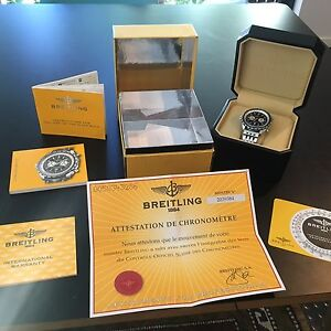 Breitling Chono-Matic 44 Navitimer Collingwood Yarra Area Preview
