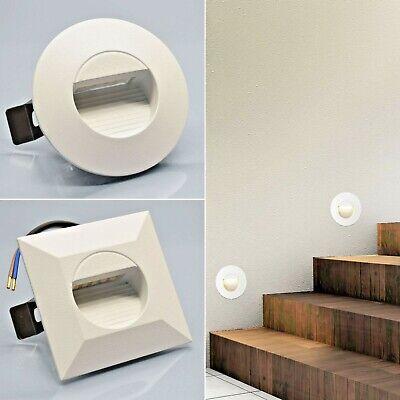 Unterputz-leuchte (LED Treppenbeleuchtung Wand Einbauleuchte Stufenlicht für in UNTERPUTZDOSE 1101)