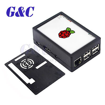 3.5 Inch Touch Screen Lcd Display Abs Case For Raspberry Pi 3 Model B