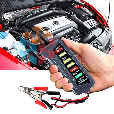 12v Led Car Van Boat Marine Voltmeter Voltage Meter Battery Tester Gauge Usa
