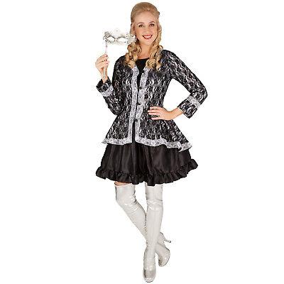 Frauenkostüm Adlige Gräfin Barock Rokoko Gothic Mittelalter Fasching Karneval