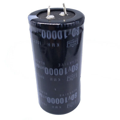 Us Stock Electrolytic Capacitors 10000uf 10000mfd 80v 105 Radial 35 X 71mm