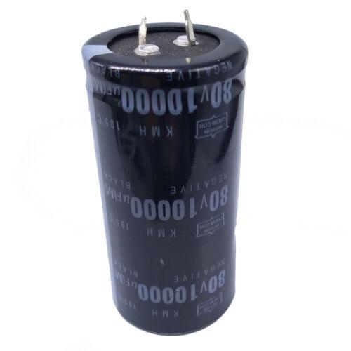 US Stock Electrolytic Capacitors 10000uF 10000mfd 80V +105℃ Radial 35 x 71mm