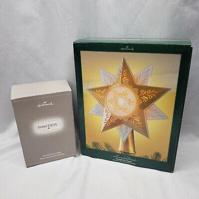 Hallmark 2005 Illuminations Starlight Tree Topper Star XMAS WITH Power Box NEW