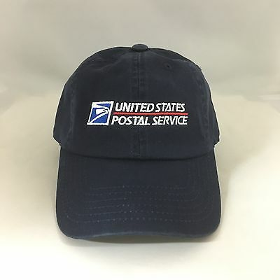 Cotton Ball Cap - USPS Dad Hat Cotton Ball Cap United States Postal Service Adjustable Navy OSFM