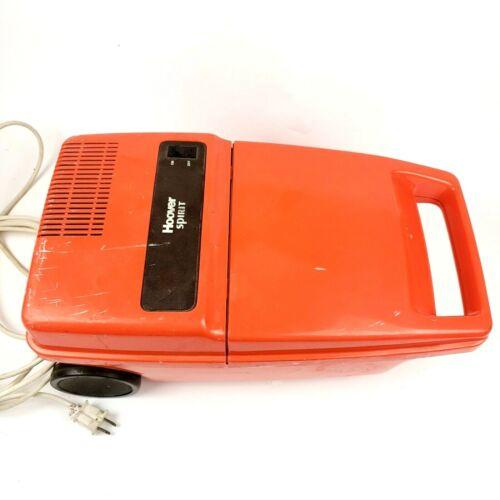 Vintage Hoover Spirit Vacuum (Model S3203) Orange