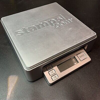 Digital Postage Scale Stamps Com Model 1010 Weight 10 Pounds With Usb Cable