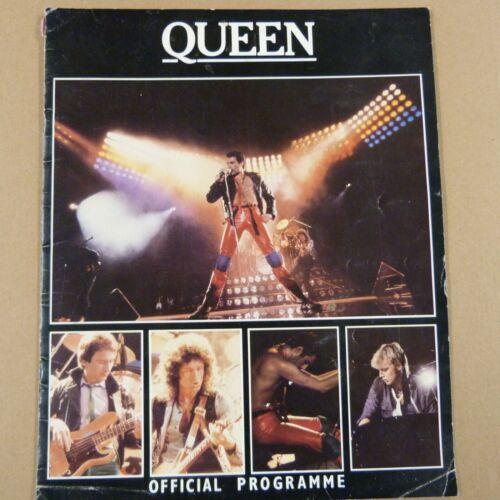 QUEEN European Tour 1980 official programme