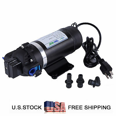 110-120v Self-priming Water Pump 160psi High Pressure Diaphragm Pump Sprayer