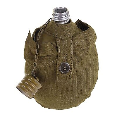 RUSSIAN USSR SOVIET ARMY FLASK  MILITARY WATER CANTEEN ORIGINAL! + POUCH! NEW!