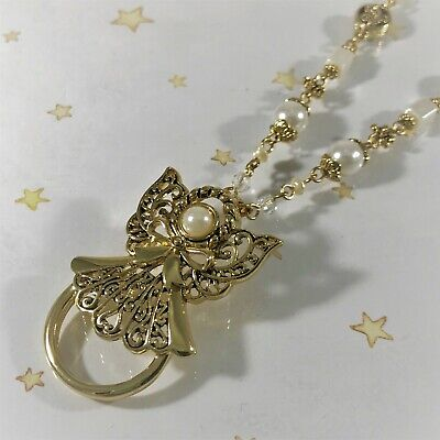 Link Necklace Gold Fancy Bead - 30