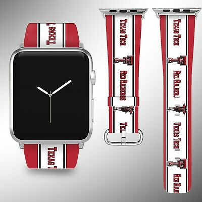 - Texas Tech Red Raiders Apple Watch Band 38 40 42 44 mm Series 1 -4 Wrist Strap 2