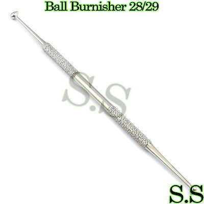 Ball Burnisher 2829 Dental Amalgam Instruments