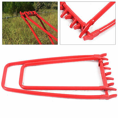 Ranch Barbed Wire Tightener Fence Crimping Tool Tightening Repair Crimping Us