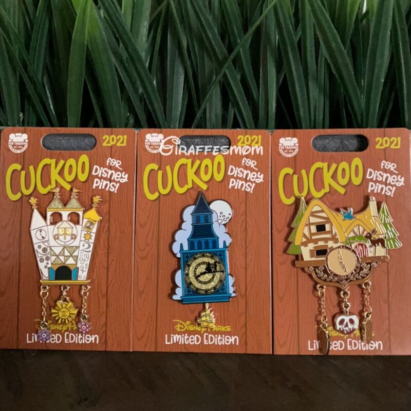 Disney Parks Cuckoo for Disney Pins Snow White, Peter Pan & It's A Small World
