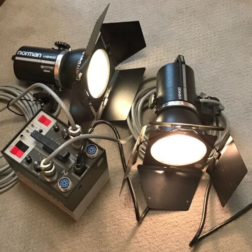 Norman Superlite 800 Power Pack & 2x LH2400 Flash Heads Strobe Lighting Outfit