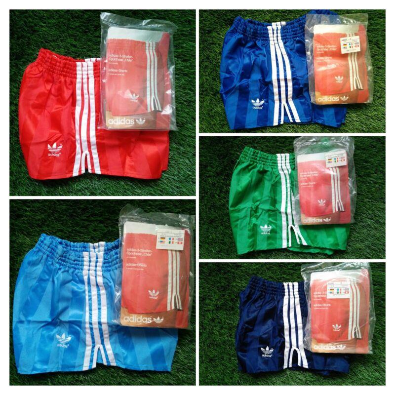 NEW Adidas Vintage Shorts Vinyl Shiny Chile Runner Sprinter West Germany 70 80