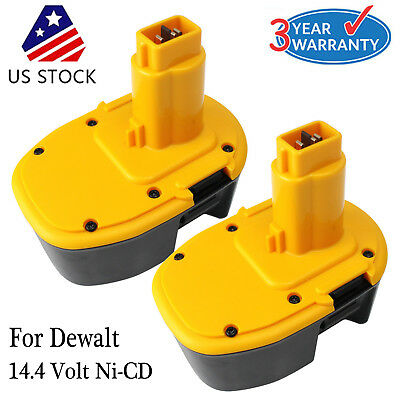 2X  For Dewalt Dc9091 14 4V Xrp Battery Dw9091 Dw9094 Ni Cd Extended Power Tools