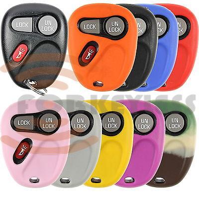 3 Button Remote Silicone - Brand New GM 3 BUTTON REMOTE Cover Case Rubber Silicone
