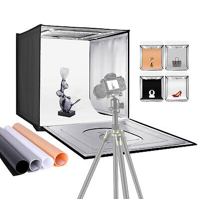 Neewer Shooting Light Tent with Adjustable Brightness, Foldable and Portable