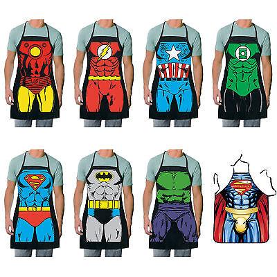 Funny Novelty Kitchen Apron - DC Comic Superheros Marvel Superman Batman Flash](Cheap Novelty)
