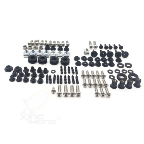 Stainless Steel Fairing Bolt Kit Body Bolt Washer For